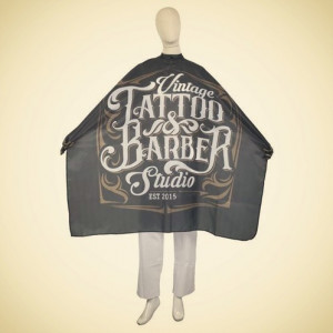 Capa/Peinador Barber Tattoo...